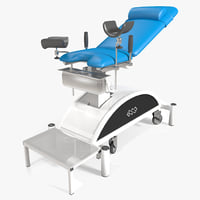 gynecology chair 3d model