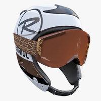 maya alpine helmet goggles