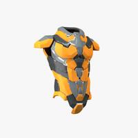 maya sci-fi armor