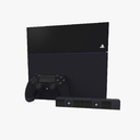 Sony PlayStation 4 3D models