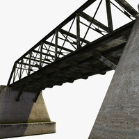 3d bridge steelbridge concrete