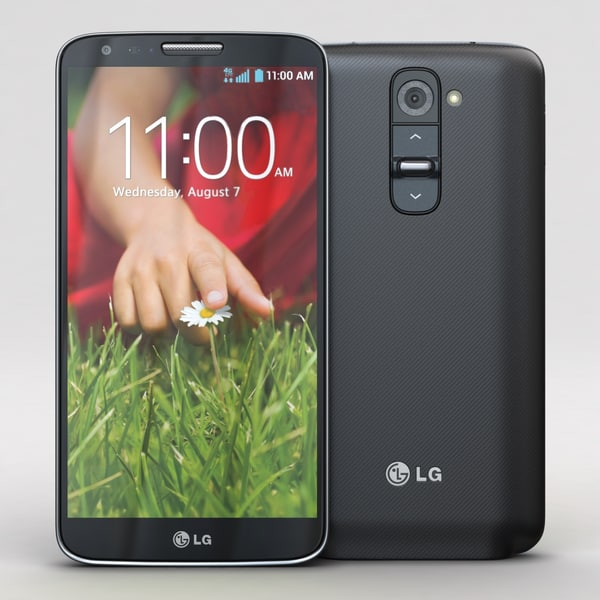 lg g2 black cellphone 3d 3ds - LG G2 Black... by 3dtoss