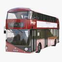 city bus 3D models