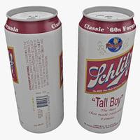 Beer Can Schlitz Tall Boy