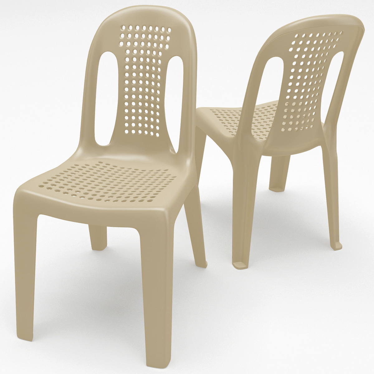 Monobloc Chair: Monobloc Chair 4 3d Max