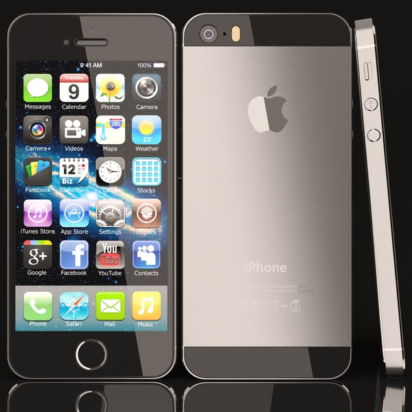 iphone 3d ma - Iphone 5S... by Frezzy