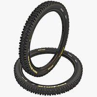 3d model of mountain bike tire maxxis