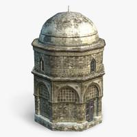 arab building 3d x