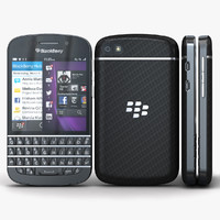 max blackberry q10 black