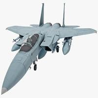 3d mcdonnell douglas f-15a eagle model