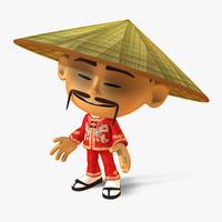 model asian man