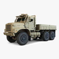 3d oshkosh mtvr amk23 model