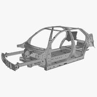 3d body car model