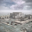 ruined city 3D models