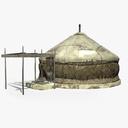 Yurt 3D models