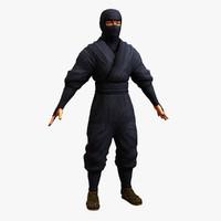 lwo ninja human