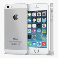 apple iphone 5s white 3d model