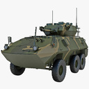 Armored Security Vehicle 3D models