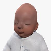 obj newborn baby girl