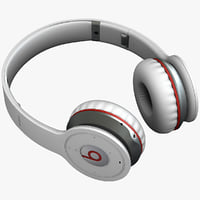 3d monster beats wireless headphones model