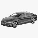 Audi S7 3D models