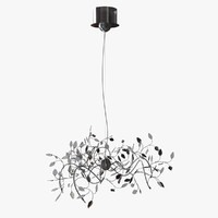 maya modern design chandelier light bulbs