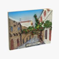 3ds max rhodes greece magnet souvenir