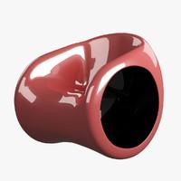 armchair plastic 3d max
