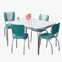 Chrome Dinette Set