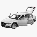 Audi A6 3D models