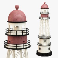 3d model ative lighthouse