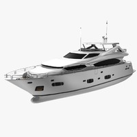 3ds max sunseeker yacht luxurious