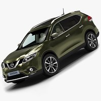 2014 nissan x-trail 3d model