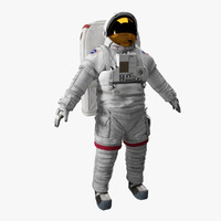 3ds max space astronaut science