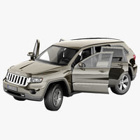 Jeep Grand Cherokee 2012 2 Rigged