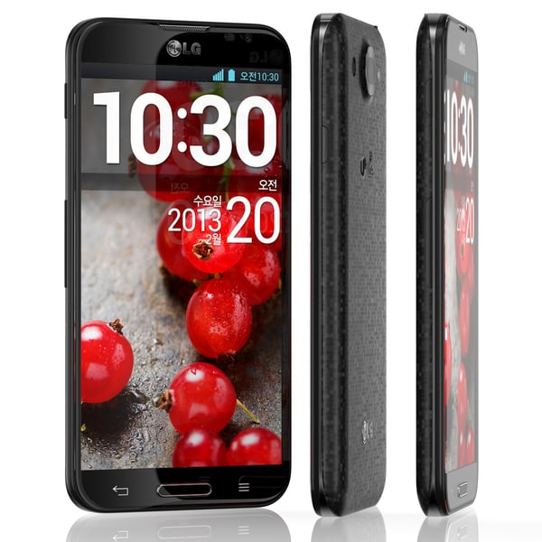 3d model lg optimus g pro - LG Optimus G Pro Black... by 811