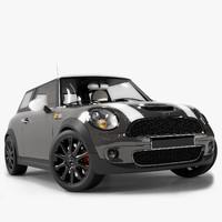 3d mini cooper s car model
