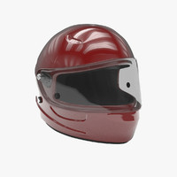 3d model of helmet general