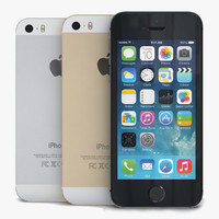 Apple iPhone 5s Black, White & Gold