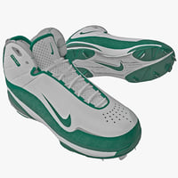 3d model baseball cleats nike air