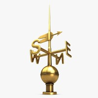 3d 3ds weather vane 1
