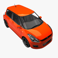 maruti suzuki swift 1 3d model
