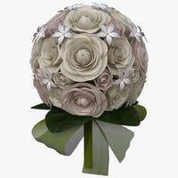 bouquet v6 3d 3ds