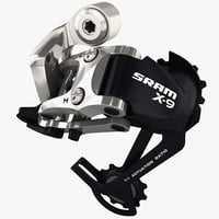 bicycle rear shifter sram 3d c4d