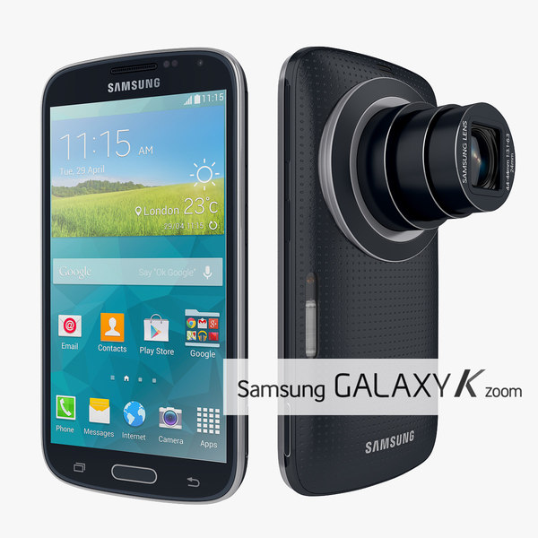 Samsung Galaxy K Zoom Smartphone Camera