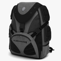 3d alienware premium backpack
