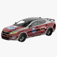 Kia Optima 2011 Pace Car