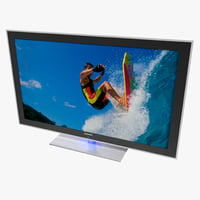 3d model led hdtv samsung un55