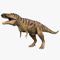 tarbosaurus dinosaur 3d max