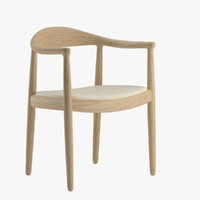 3d hans wegner chair